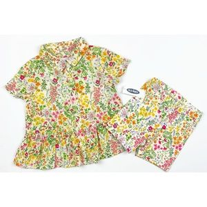 NWT OLD NAVY SHORT SET , SIZE 2T
